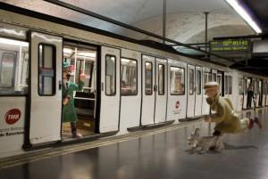 Tintin a Barcelona